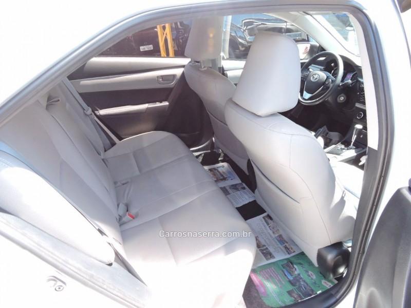 corolla 2.0 xei 16v flex 4p automatico 2016 veranopolis