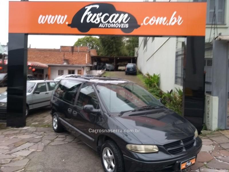 caravan 2.4 se 4x2 16v gasolina 4p automatico 1999 caxias do sul