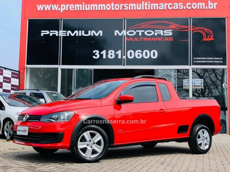 saveiro 1.6 mi trend ce 8v flex 2p manual g.iv 2014 estancia velha