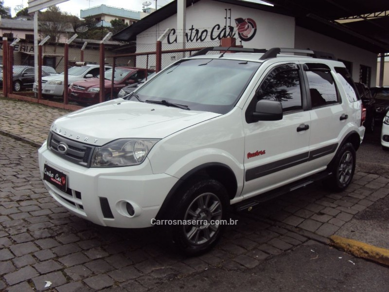 ecosport 1.6 freestyle 8v flex 4p manual 2012 caxias do sul