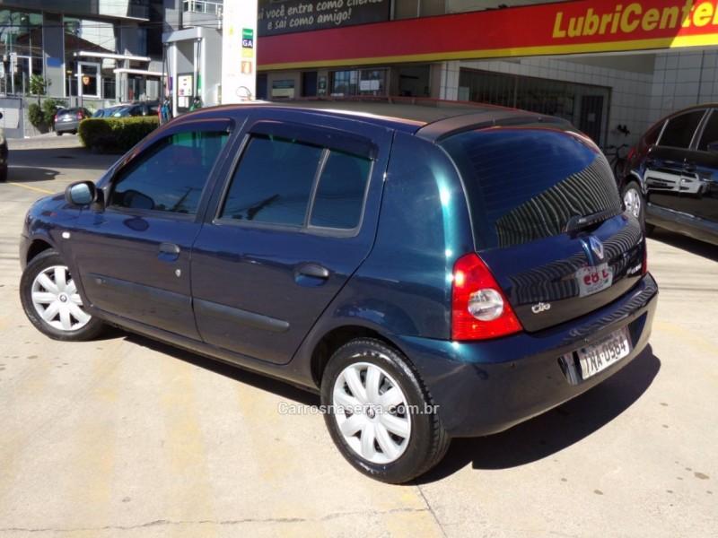 CLIO 1.0 AUTHENTIQUE 8V GASOLINA 4P MANUAL - 2006 - CAXIAS DO SUL