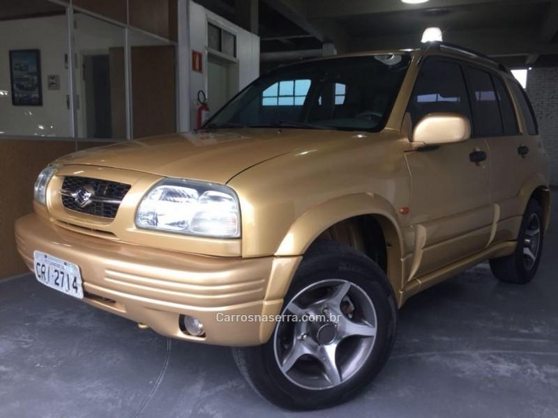 grand vitara 2.0 4x4 16v gasolina 4p automatico 1999 caxias do sul