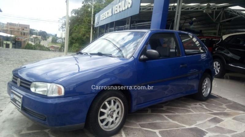 gol 1.6 cli 8v gasolina 2p manual 1995 caxias do sul