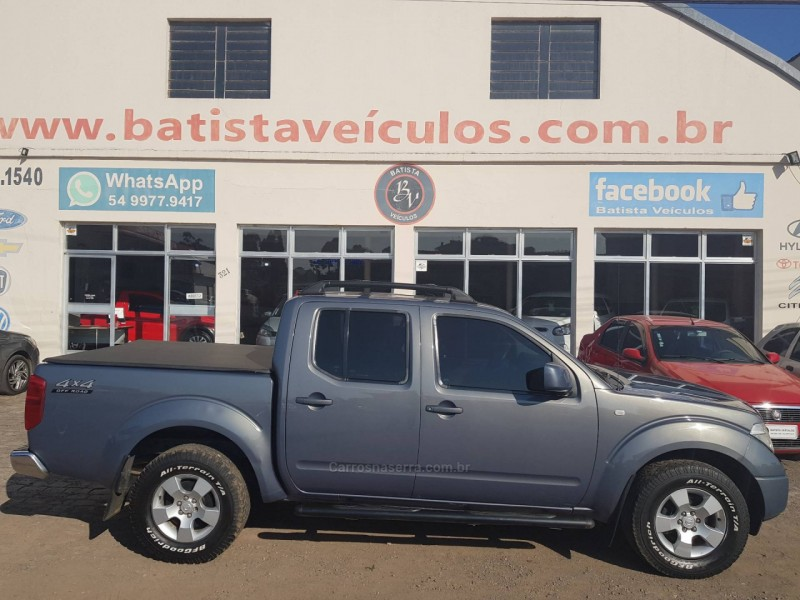frontier 2.5 xe 4x4 cd turbo eletronic diesel 4p manual 2013 sao francisco de paula