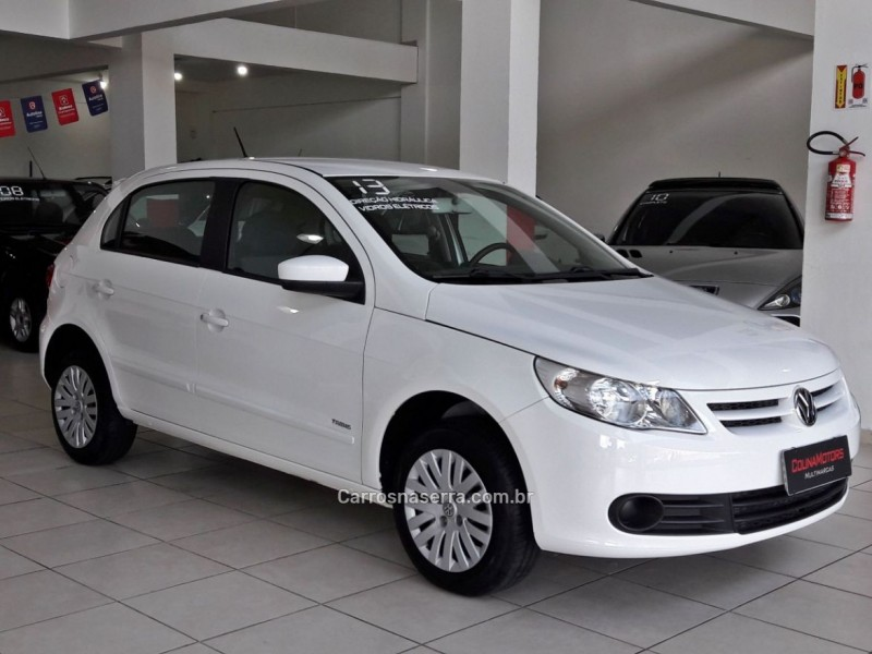 gol 1.0 mi 8v flex 2p manual g.v 2013 caxias do sul