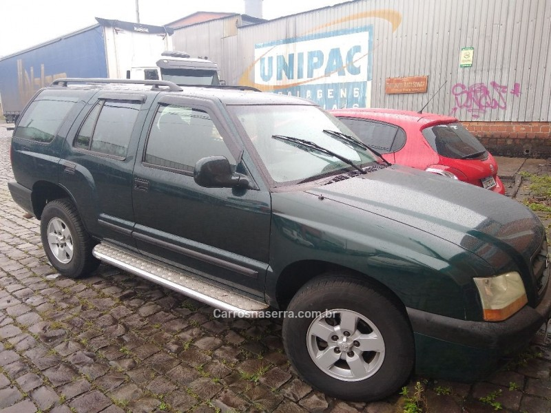 blazer 2.4 mpfi 4x2 8v gasolina 4p manual 2001 caxias do sul