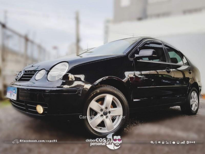 polo sedan 1.6 mi 8v flex 4p manual 2005 bento goncalves
