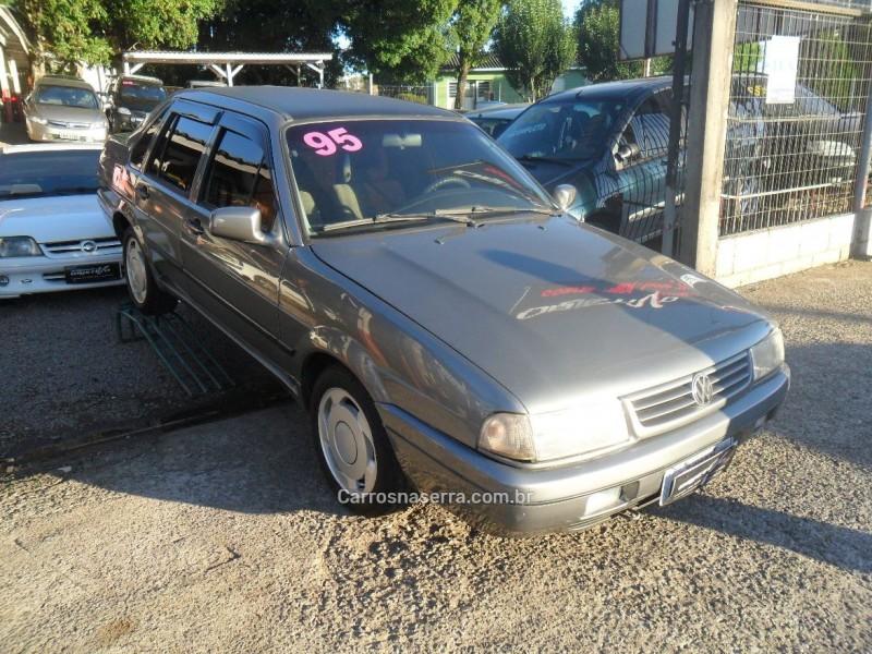 santana 1.8 cli 8v gasolina 4p manual 1995 caxias do sul