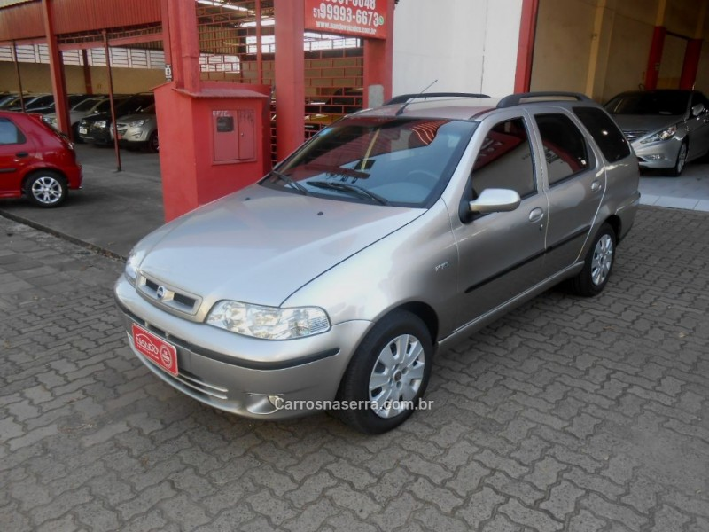 palio 1.6 mpi stile weekend 16v gasolina 4p manual 2002 estancia velha