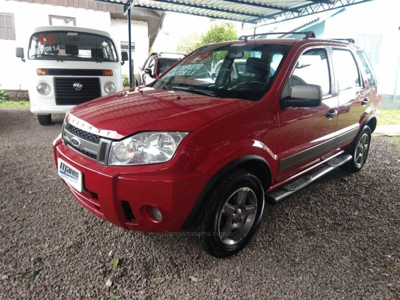 ecosport 1.6 xlt freestyle 8v flex 4p manual 2009 canela