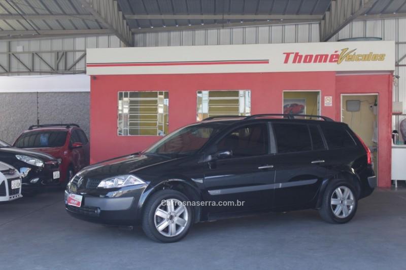 megane 2.0 dynamique grand tour 16v gasolina 4p automatico 2008 caxias do sul