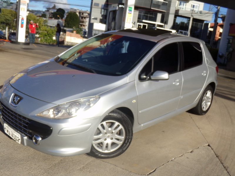 307 2.0 griffe 16v gasolina 4p automatico 2007 caxias do sul