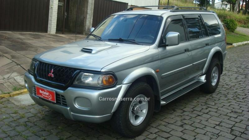 pajero sport 2.8 gls 4x4 8v turbo intercooler diesel 4p automatico 2001 farroupilha