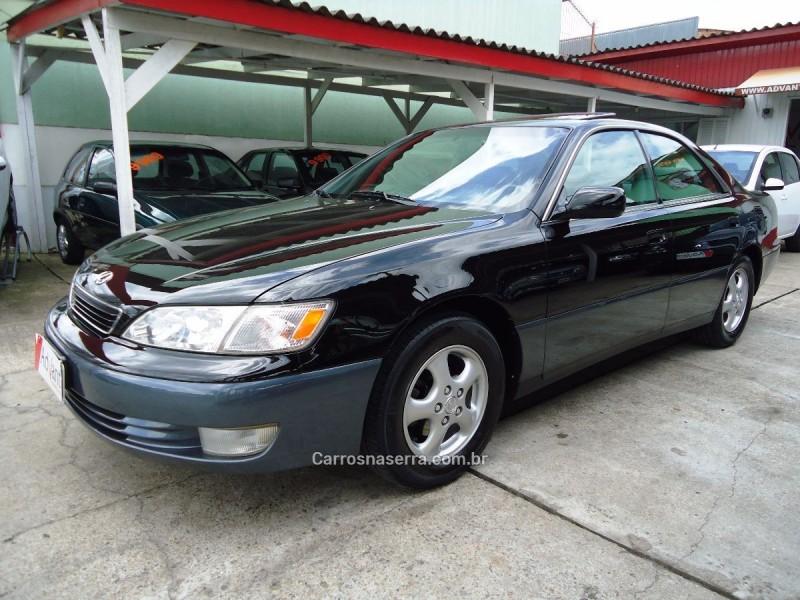 es 3.0 300 v6 24v gasolina 4p automatico 1998 caxias do sul