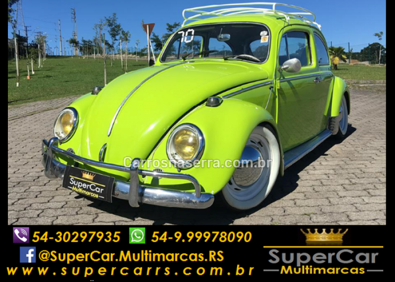 fusca 1.3 8v gasolina 2p manual 1970 caxias do sul