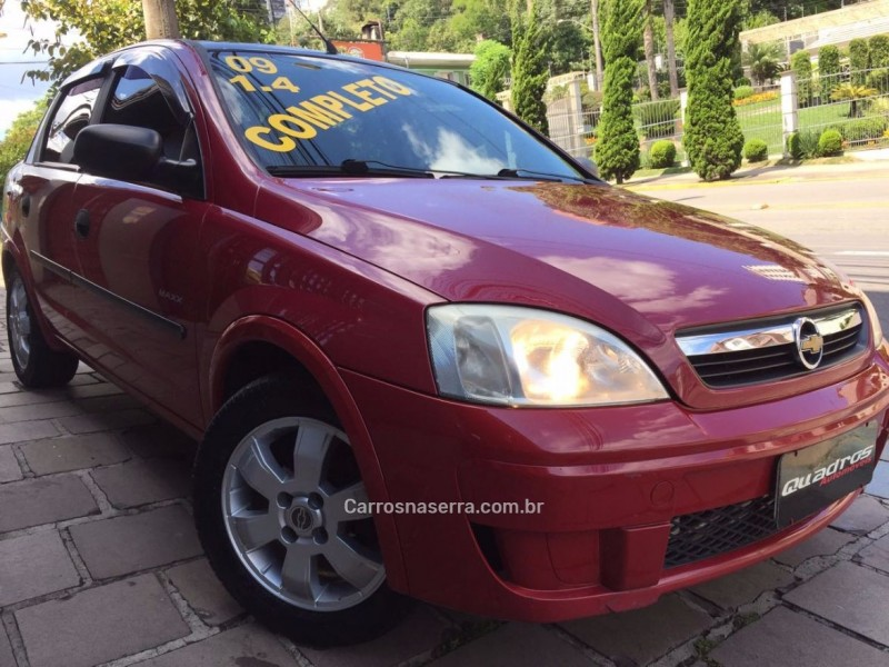 corsa 1.4 mpfi maxx sedan 8v flex 4p manual 2009 caxias do sul