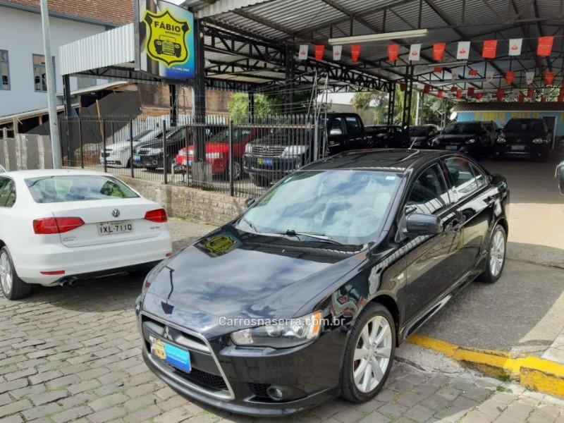 lancer 2.0 16v gasolina 4p automatico 2012 garibaldi