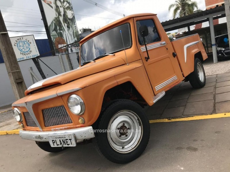 F-75 2.3 4X2 PICK-UP MANUAL - 1974 - FARROUPILHA