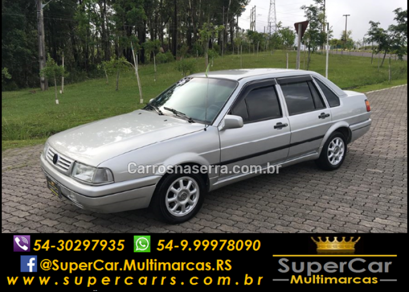 santana 2.0 gl 8v gasolina 4p manual 1995 caxias do sul