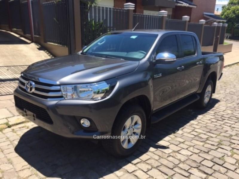 hilux 2.8 srv 4x4 cd 16v diesel 4p automatico 2019 carlos barbosa