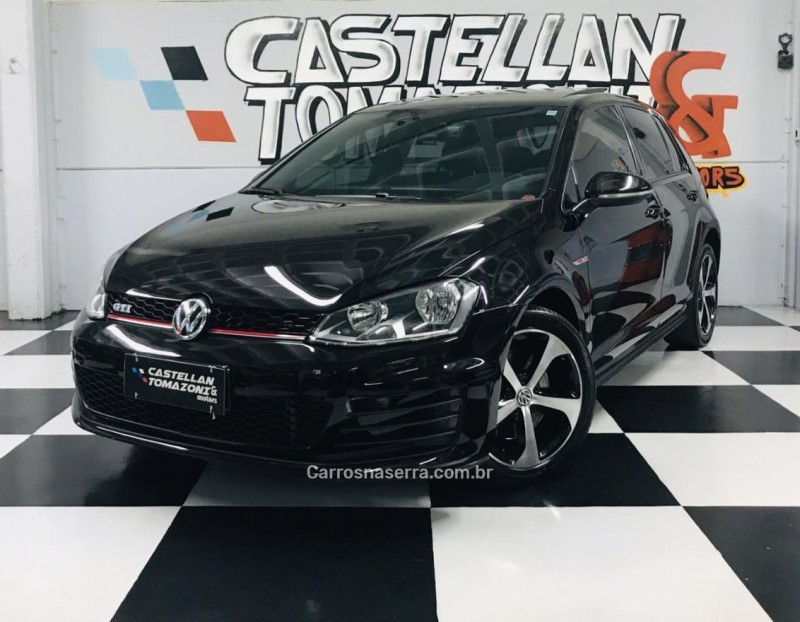 golf 2.0 tsi gti 16v turbo gasolina 4p automatico 2015 caxias do sul