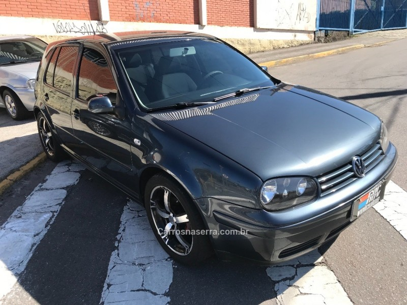golf 1.6 mi 8v flex 4p manual 2001 caxias do sul