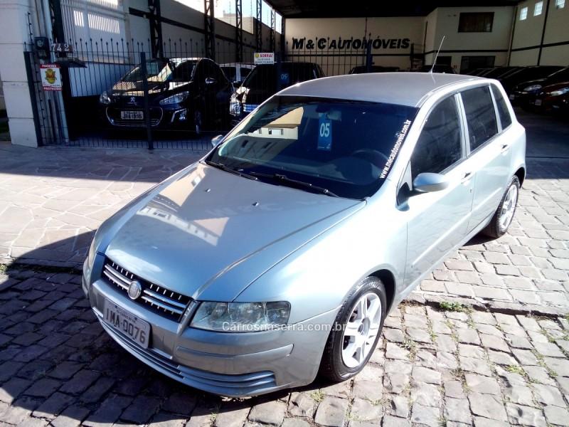 stilo 1.8 mpi 16v gasolina 4p manual 2005 caxias do sul