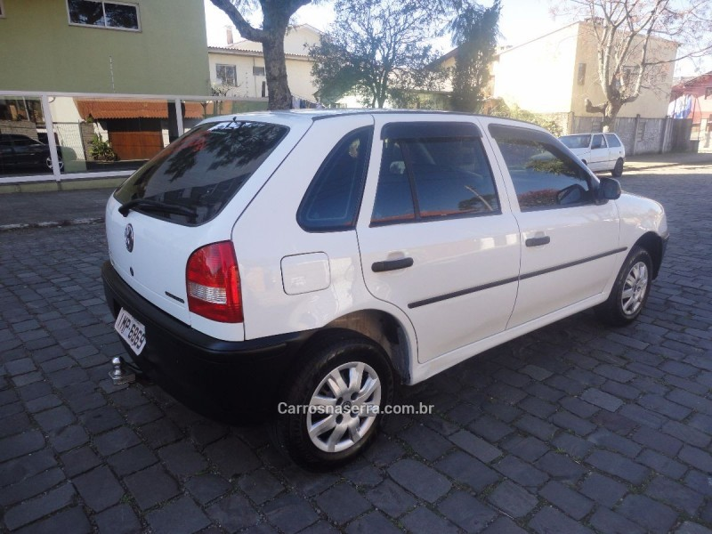 gol 1.0 mi city 8v flex 4p manual g.iii 2005 caxias do sul