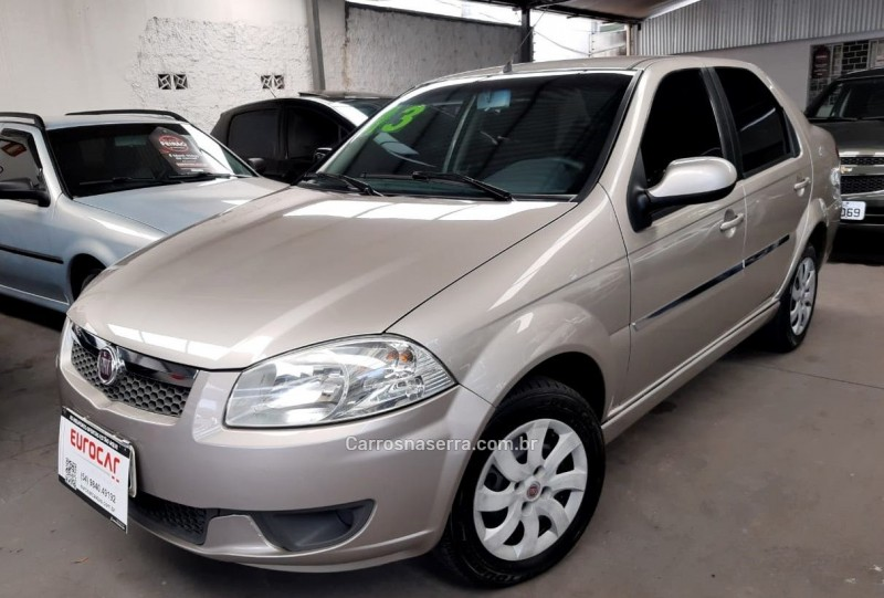 siena 1.4 mpi el 8v flex 4p manual 2013 caxias do sul