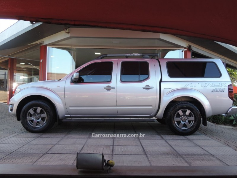 FRONTIER 2.5 SE ATTACK 4X4 CD TURBO ELETRONIC DIESEL 4P MANUAL - 2014 - IVOTI