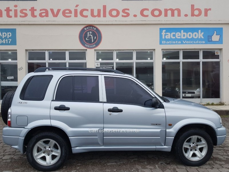 tracker 2.0 4x4 8v gasolina 4p manual 2008 sao francisco de paula