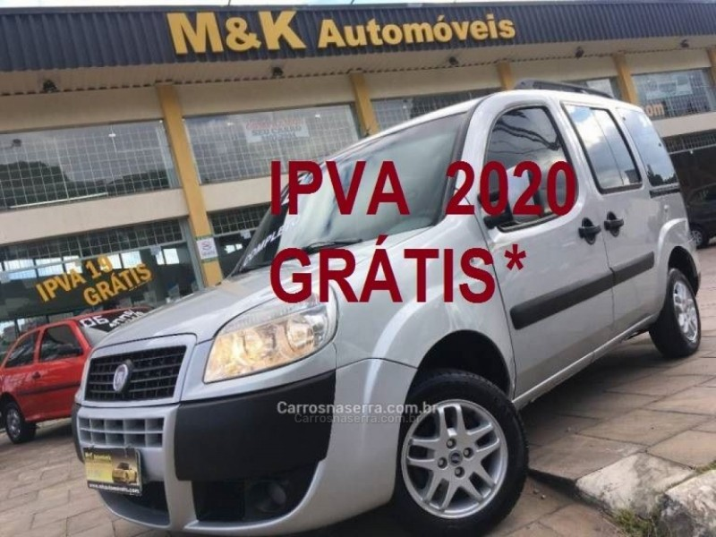 doblo 1.8 mpi essence 16v flex 7p manual 2012 caxias do sul