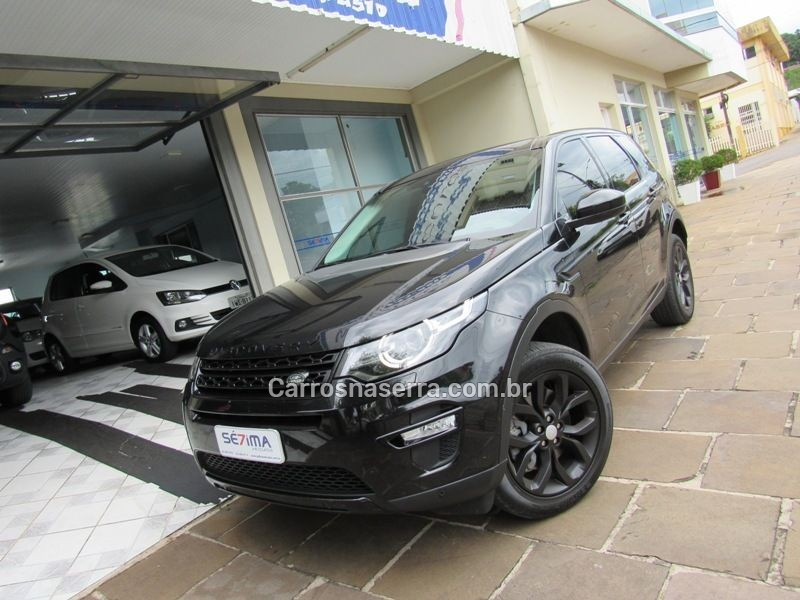 discovery sport 2.0 16v td4 turbo diesel hse 4p automatico 2018 guapore