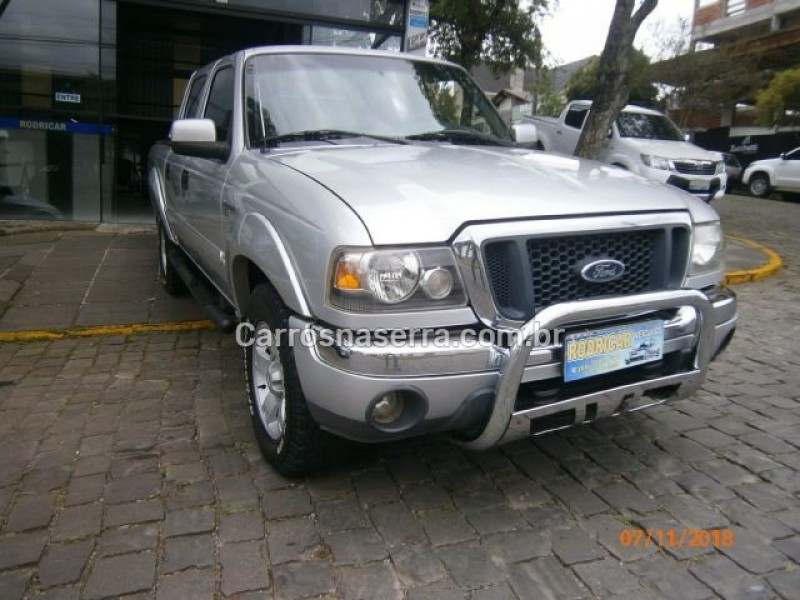 ranger 2.8 xlt 4x4 cd 8v turbo intercooler diesel 4p manual 2005 nova prata