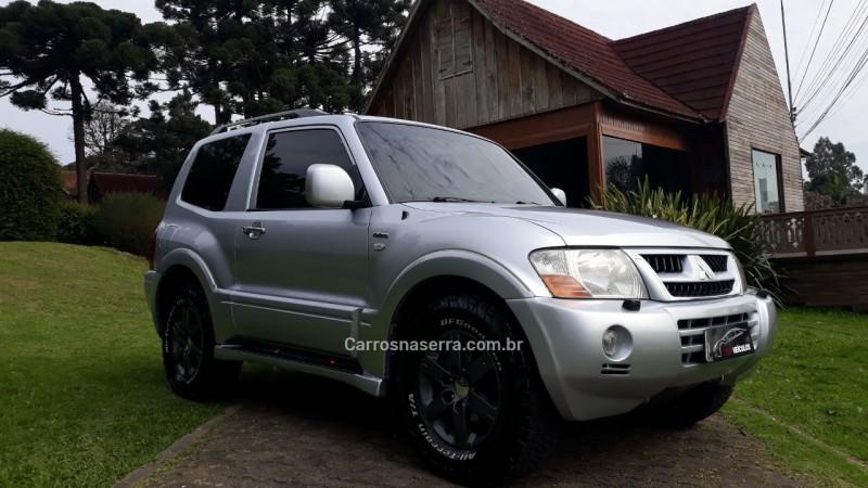 pajero full 3.8 hpe 4x4 v6 24v gasolina 2p automatico 2006 caxias do sul