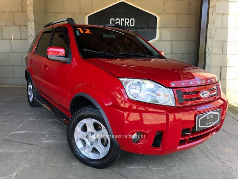 ecosport 1.6 xlt 8v flex 4p manual 2012 caxias do sul