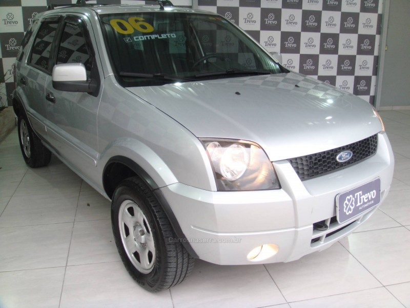 ecosport 1.6 xls 8v gasolina 4p manual 2006 taquara