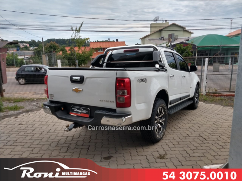 S10 2.8 LTZ 4X4 CD 16V TURBO DIESEL 4P AUTOMÁTICO - 2018 - BENTO GONçALVES