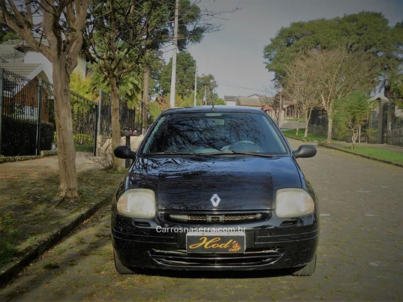 clio 1.0 rn 8v gasolina 4p manual 2000 canela