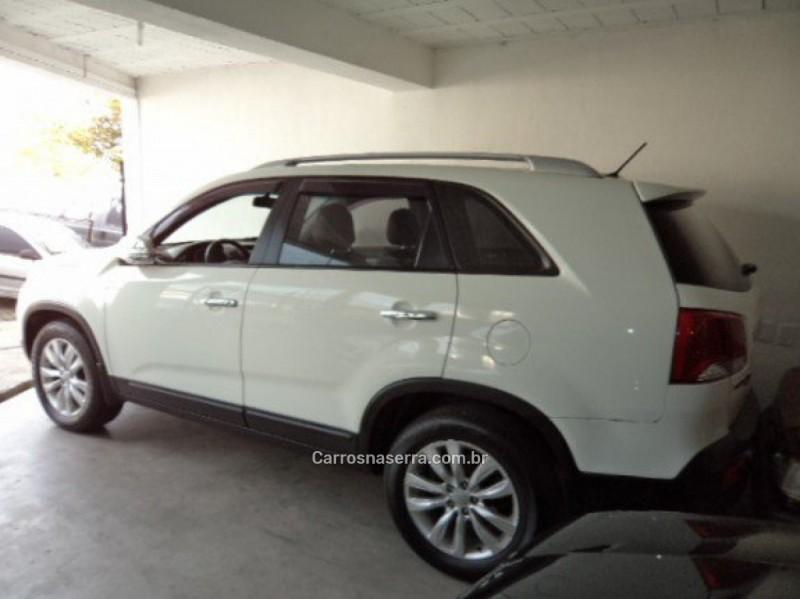 SORENTO 2.4 EX 4X2 16V GASOLINA 4P AUTOMÁTICO - 2012 - VERANóPOLIS