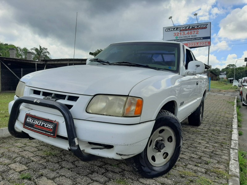s10 2.5 4x4 cs 8v turbo diesel 2p manual 1998 caxias do sul