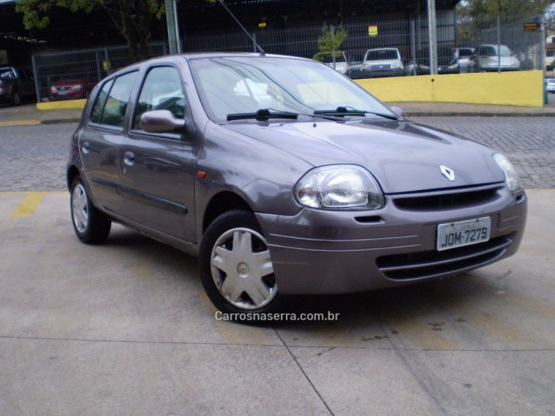 clio 1.0 rl 8v gasolina 4p manual 2000 caxias do sul