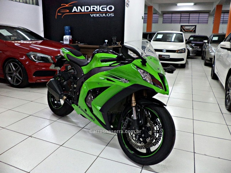 ninja zx 10r abs 2011 caxias do sul