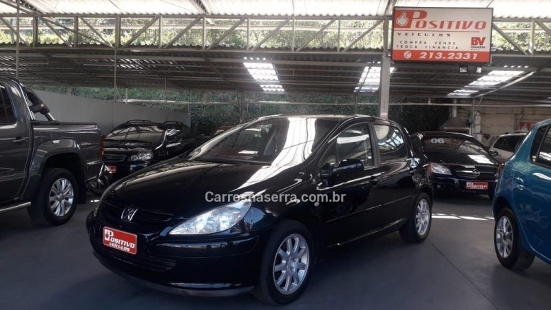 307 1.6 presence pack 16v gasolina 4p manual 2004 caxias do sul