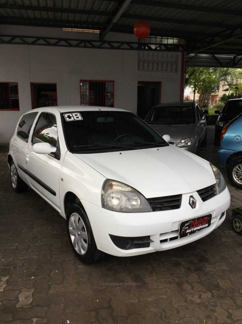 clio 1.0 authentique 16v flex 2p manual 2008 caxias do sul
