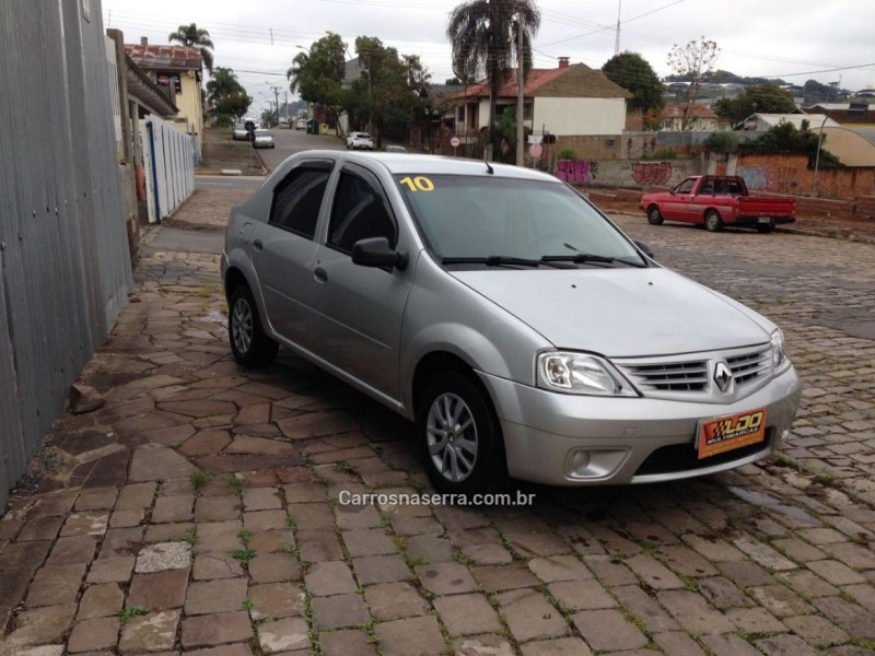 logan 1.0 authentique 16v flex 4p manual 2010 caxias do sul