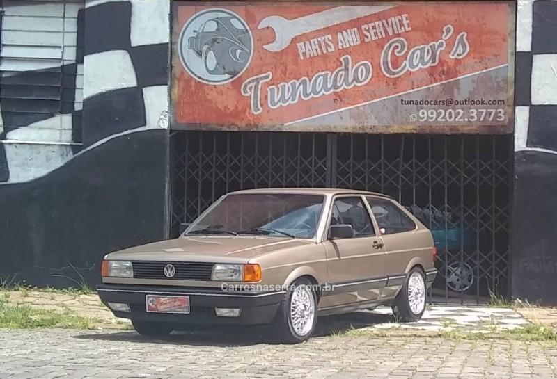 gol 1.6 gl 8v gasolina 2p manual 1991 caxias do sul