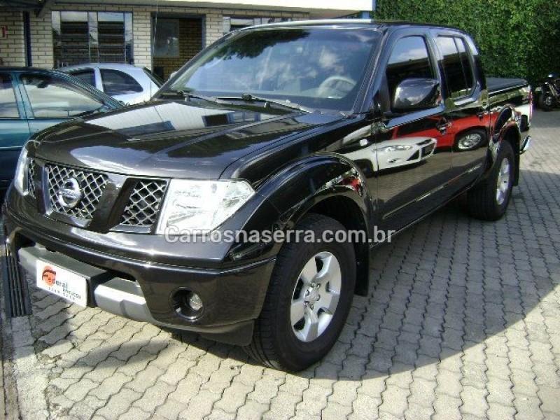 frontier 2.5 xe 4x4 cd turbo eletronic diesel 4p manual 2013 caxias do sul