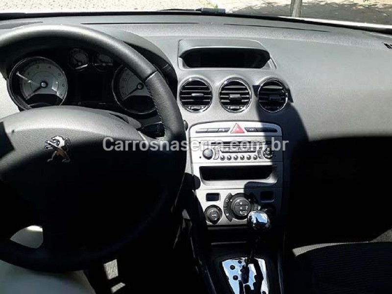 308 2.0 ALLURE 16V FLEX 4P AUTOMÁTICO - 2013 - FLORES DA CUNHA