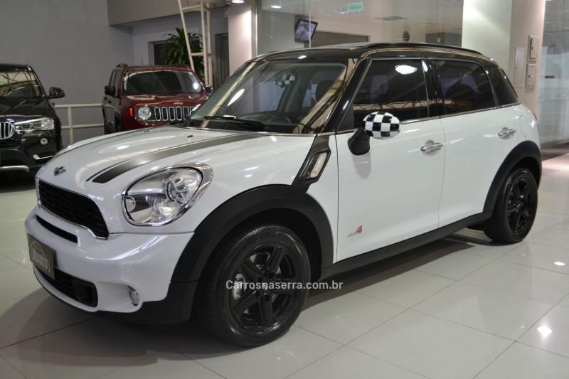 countryman 1.6 s all4 4x4 16v 184cv turbo gasolina 4p automatico 2011 caxias do sul